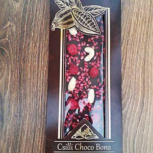 málnás-kesudiós-kézműves-csokoládé